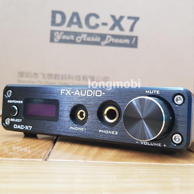 dau giai ma dac audio x7