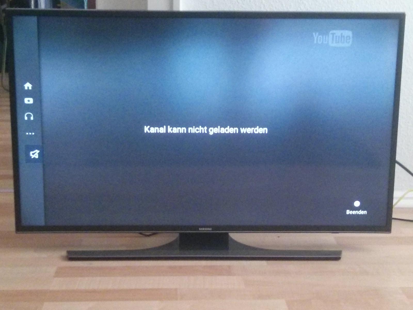Smart Tv Youtube Funktioniert Nicht