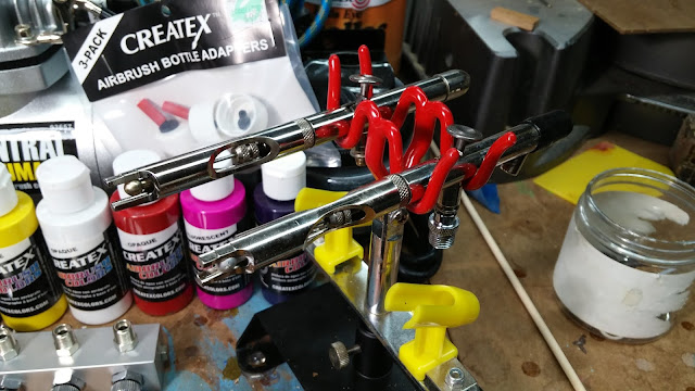 Two of my Badger 155 Airbrushes