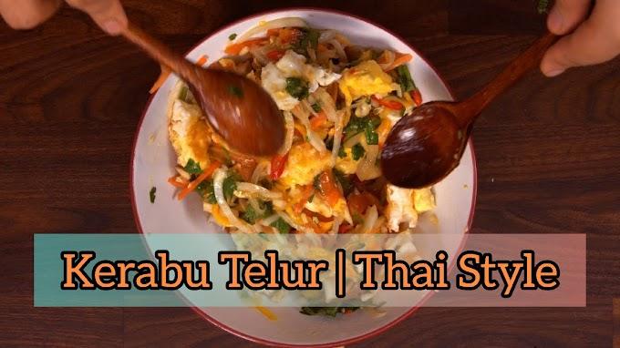Kerabu Telur | Thai Style