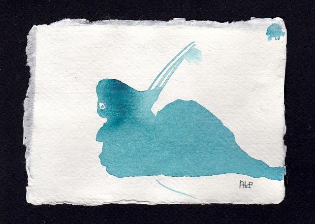 Slow Progress. Artist Andrea Hupke de Palacio. Experiences: An Online Gallery Show of Small Paintings