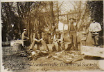 Fishing on Holcombe Island circa 1890