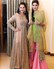 Sania Mirza-Sister-Wedding-Outfits-Mystylespots8
