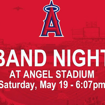 Band Night at Angel's Stadium