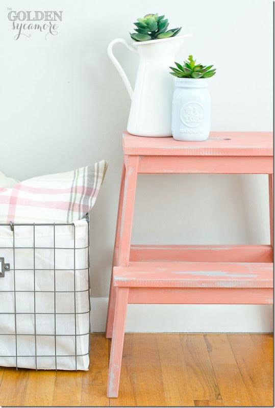 #DIY Ikea Bekvam sgabello scaletta: trasformazione - Case e Interni