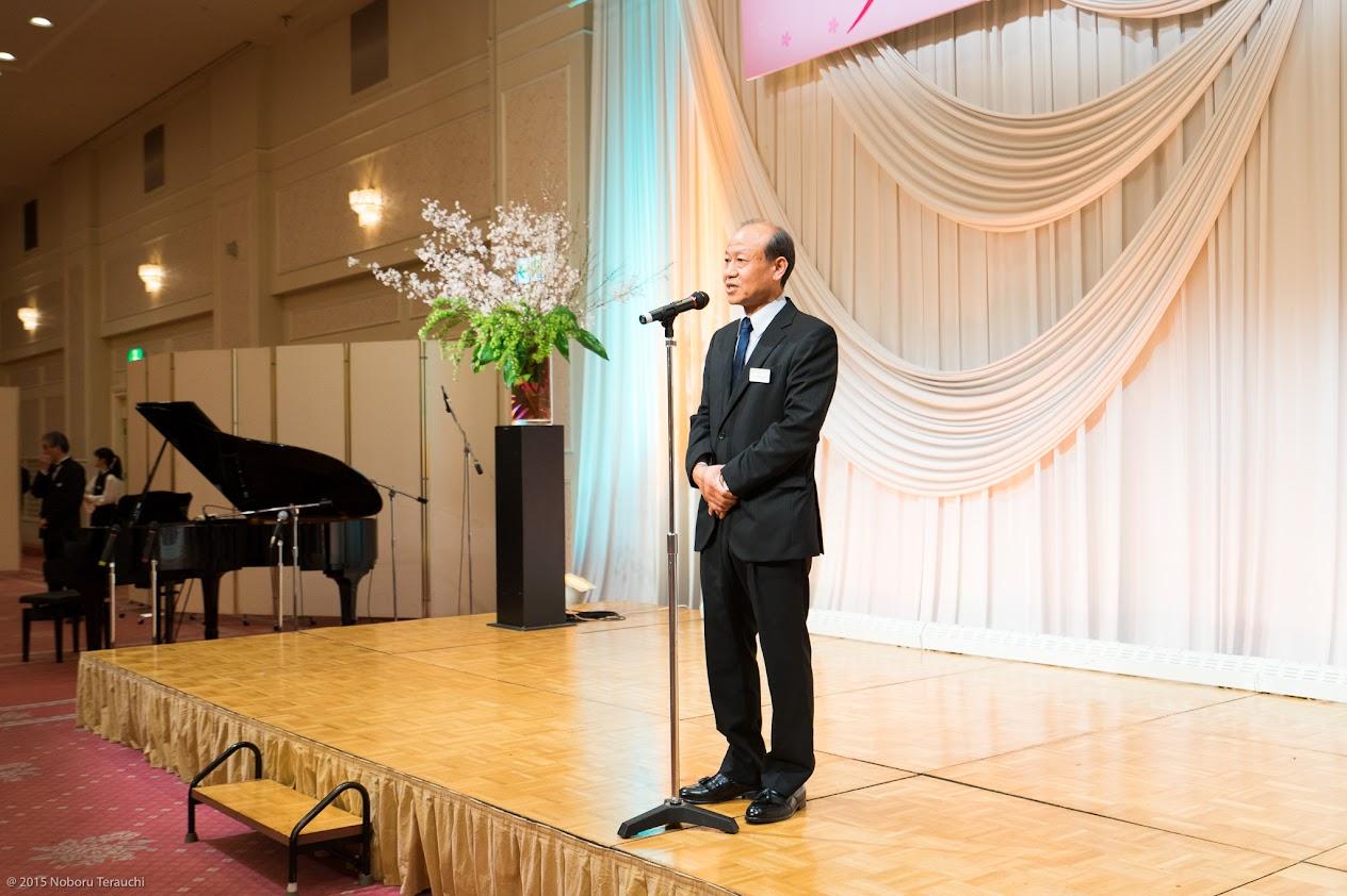 株式会社サッポロシャトレーゼ・水澤義治 代表取締役社長・閉宴のご挨拶