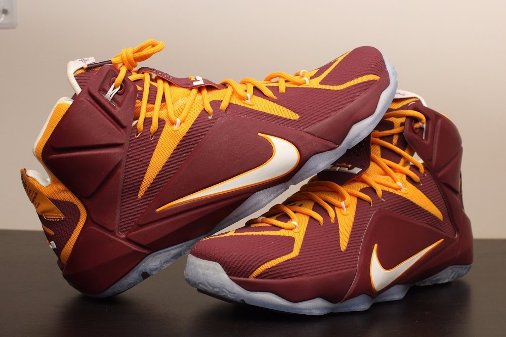 new product 94505 d0030 ... Additional Look at Nike LeBron 12 Christ the King Away PE ...