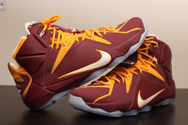 Additional Look at Nike LeBron 12 Christ the King Away PE