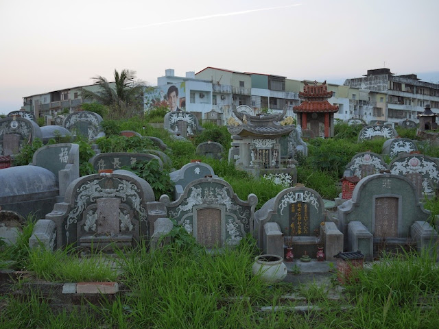 Cemetery in Anping District, Tainan, Taiwan