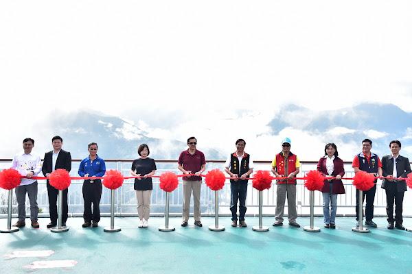 2017-05-27「清境高空觀景步道」正式啟用