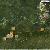Localisation des photos (altitude 350 m) au-dessus de Viggianello