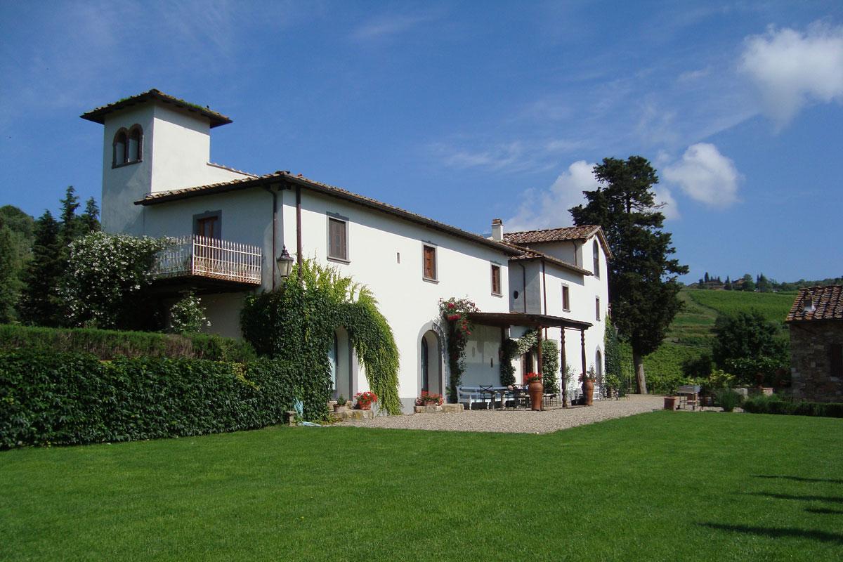 Villa Rignana_Greve dans Chianti_1
