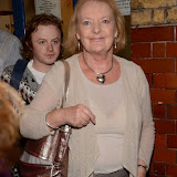 WWW.ENTSIMAGES.COM -     June  Watson leaving  Noel Coward Theatre in her last week performance  The cripple of  inishmaan August 27th 2013                                             Photo Mobis Photos/OIC 0203 174 1069
