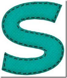 s letras verdes