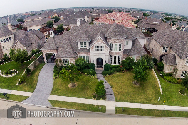 remote control aerial photography in dallas