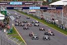 Start of 2014 Australian F1 GP