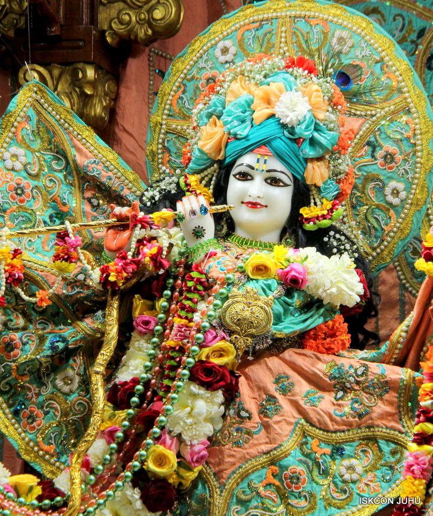 ISKCON Juhu Sringar Deity Darshan on 19th Jan 2017 (17)