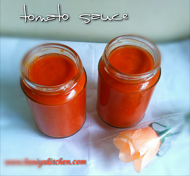 saus tomat homemade