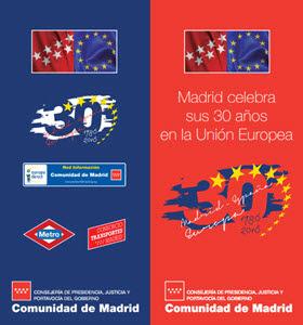 Plano especial de Metro por 30 años de España en la UE