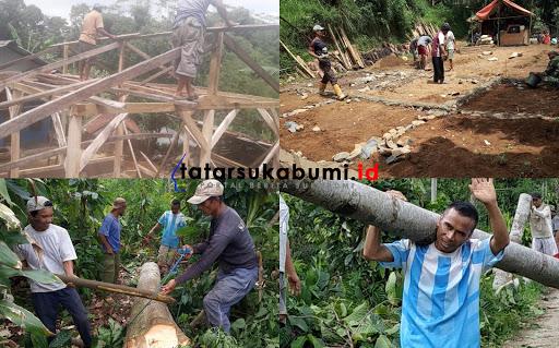 Desa Cipeteuy Bangun 18 Rutilahu Sepanjang Tahun 2018
