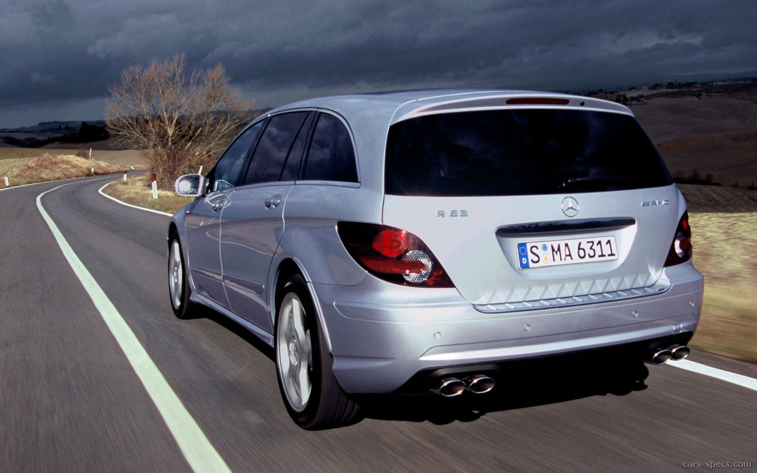 2007 mercedes benz r class r63 amg specifications pictures prices. Black Bedroom Furniture Sets. Home Design Ideas