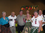 Marlynne Olson, Jan Emerson, Ron & Pat Hoot, Jerry Olson, Chyrll & Carl Coscorrosa