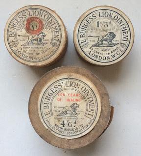 Edwardian Ointment Pots