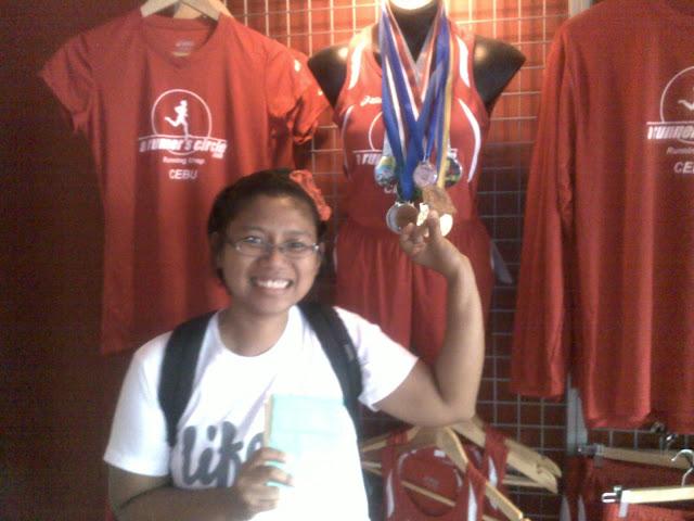 a runner's circle, running store in cebu, philippines
