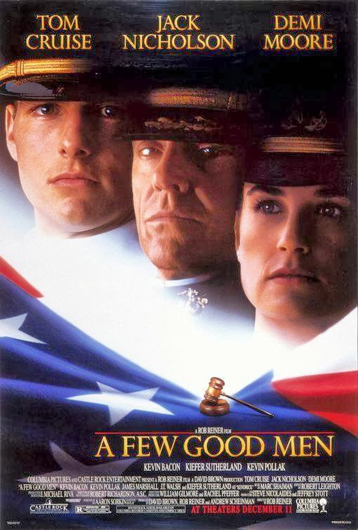 Poster Of A Few Good Men (1992) Full Movie Hindi Dubbed Free Download Watch Online At Alldownloads4u.Com