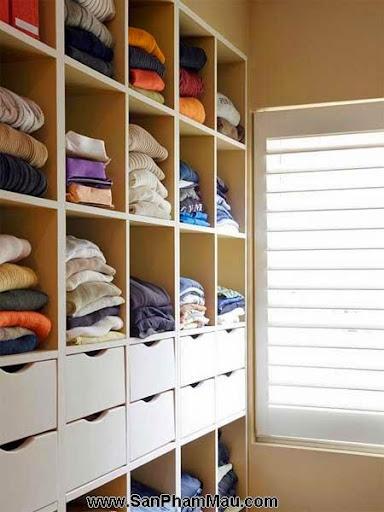 Cách trang trí tủ quần áo để được chồng khen-7