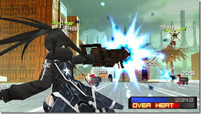 free  Black Rock Shooter The Game for psp