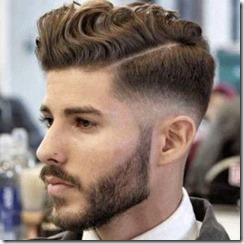 Low fade mens hair cut curly hair