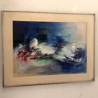 Sandra Baker Signed Painting #1