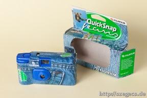 Quicksnap kivéve a csomagból...