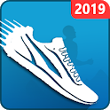 Pedometer Free – Best Steps & Calorie Counter 2019 icon