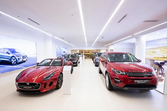 Showroom Jaguar Land Rover Sài Gòn