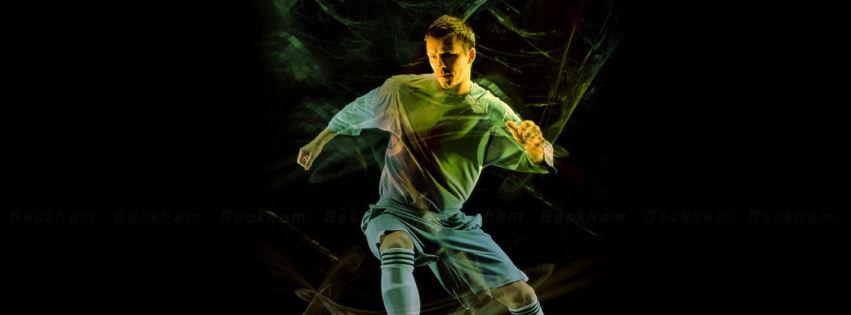 David Beckham destop facebook cover