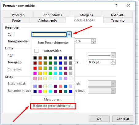 Como inserir imagens nos comentários do Excel - Visual Dicas