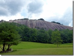 View of Stone Mountain near Hutchinson Homestead