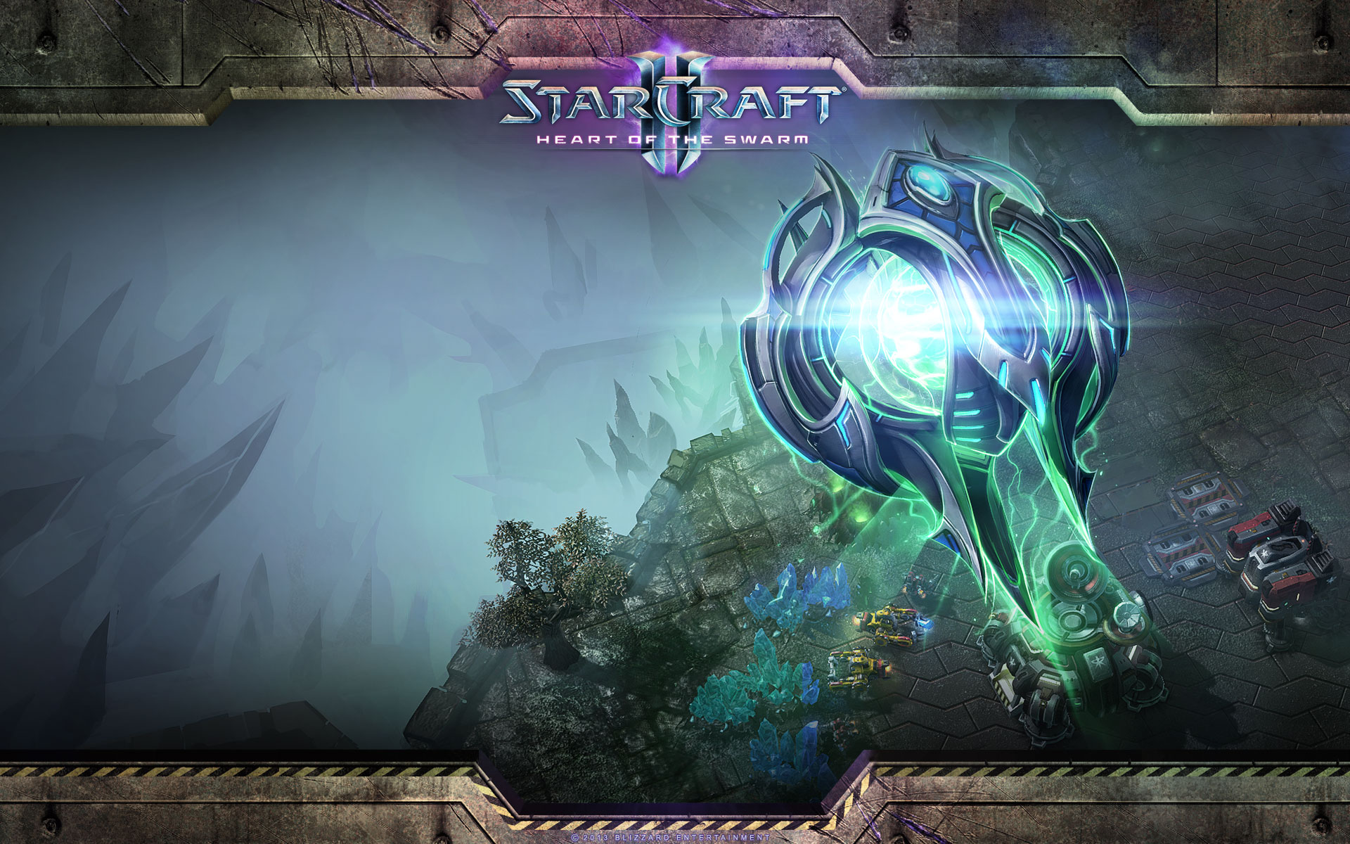 Oracle Starcraft Ii Heart Of The Swarm Mystery Wallpaper