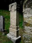 """Gemeinde Mühlhausen OPf. OT Sulzbürg, Jüdischer Friedhof, Konservierung der Grabmäler 2003/10, Fachbauleitung, Muster, Endzustand G 099"""""""
