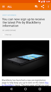 CrackBerry — The App!- screenshot thumbnail