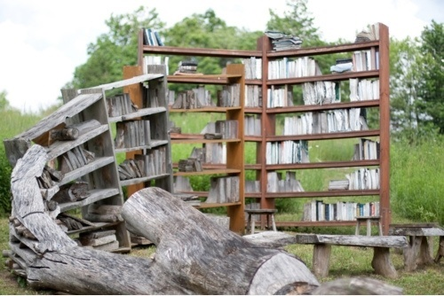 Book Rack Art