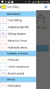 Physics Formulas Free 3