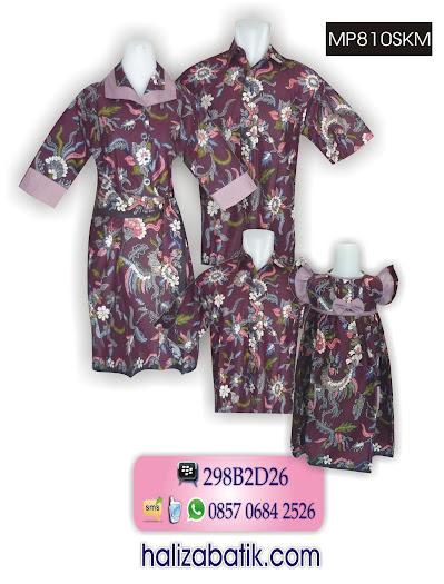 Sarimbit Batik Keluarga, Baju Sarimbit Keluarga, Model Batik Keluarga