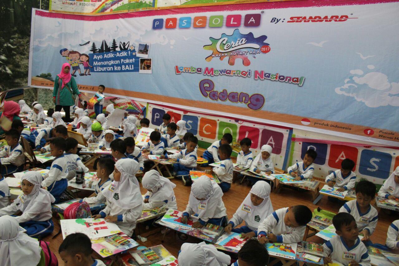 Bangganya Liat Ribuan Murid TK Di Kota Padang Diperkenalkan