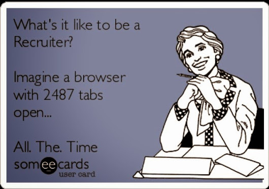 So, you want to be a Recruiter??