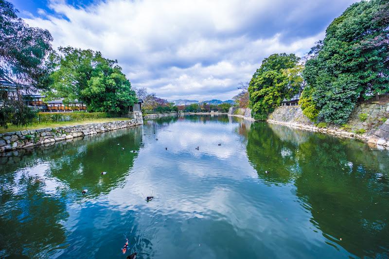 Hiroshima Castle moat