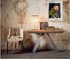 Cattelan tavolo consolle Convivium 50x110 o 130, allungabile fino a 300 cm.