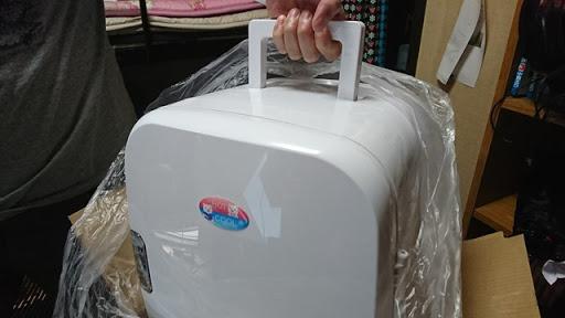 DSC 3450 thumb%255B3%255D - 【リキッド/保存】「タタコーポレーション ポータブル冷温庫 14L AC/DC電源 PHC-W」レビュー。リキッドもビールもジュースも冷やせてそこそこ「キンキンに冷えてやがるっ!」【ガジェット/ハードウェア/冷温庫】